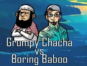 Grumpy Chacha vs Boring Baboo: Episode 7 – Boring Baboo tries to skip the Long Grocery Line