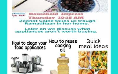 Household Express: Zeenat Cajee takes us through Ramadhaan in her home
