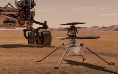 NASA's Ingenuity Mars Helicopter Could Make First Flight over Red Planet on Monday