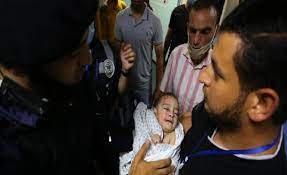 5-Month Old Baby Sole Survivor of Israeli Attack on Residential Home