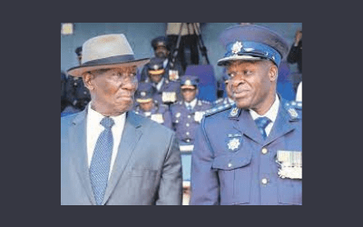 Police Minister And His National Commissioner At Loggerheads