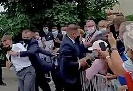 Emmanuel Macron's Slapper Described as 'Decent'
