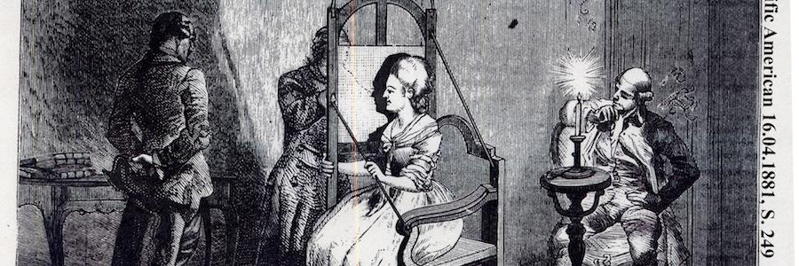 Lavater e il suo apparato per disegnare le silhouette