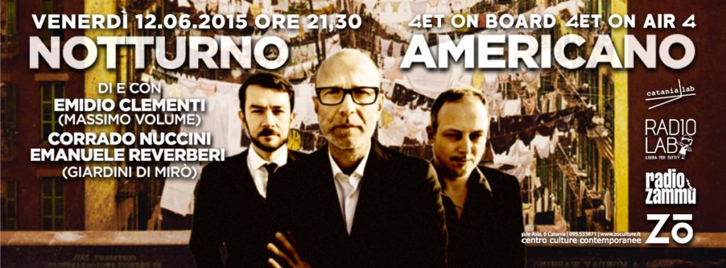 notturno americano live 12 06 2015