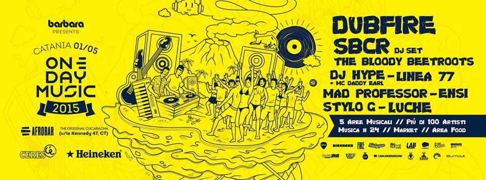 one day musica catania 2015