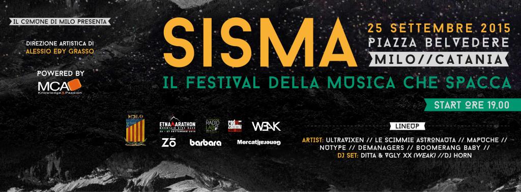 SISMA - 25 SETTEMBRE @ MILO