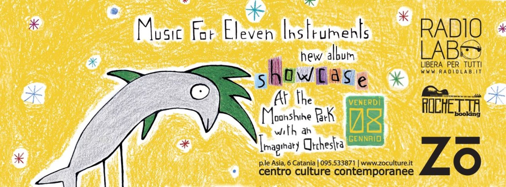 Music for Eleven Instruments live Zo
