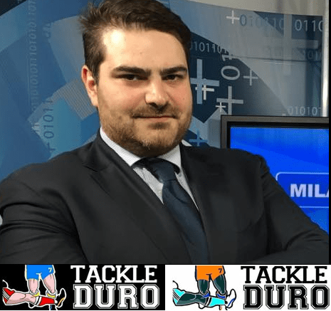 "Intervista a Roberto Dupplicato, ideatore del contenitore tv e web ""Tackle Duro"""