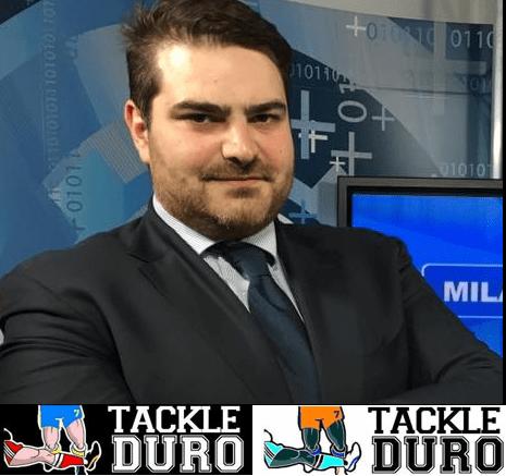 """Intervista a Roberto Dupplicato, ideatore del contenitore tv e web """"Tackle Duro"""""""