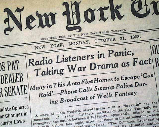 Radiokaøs #40 – La guerra dei mondi