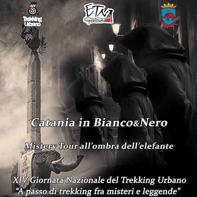 """Trekking Urbano: """"Mistery tour. Catania in bianco&nero"""""""