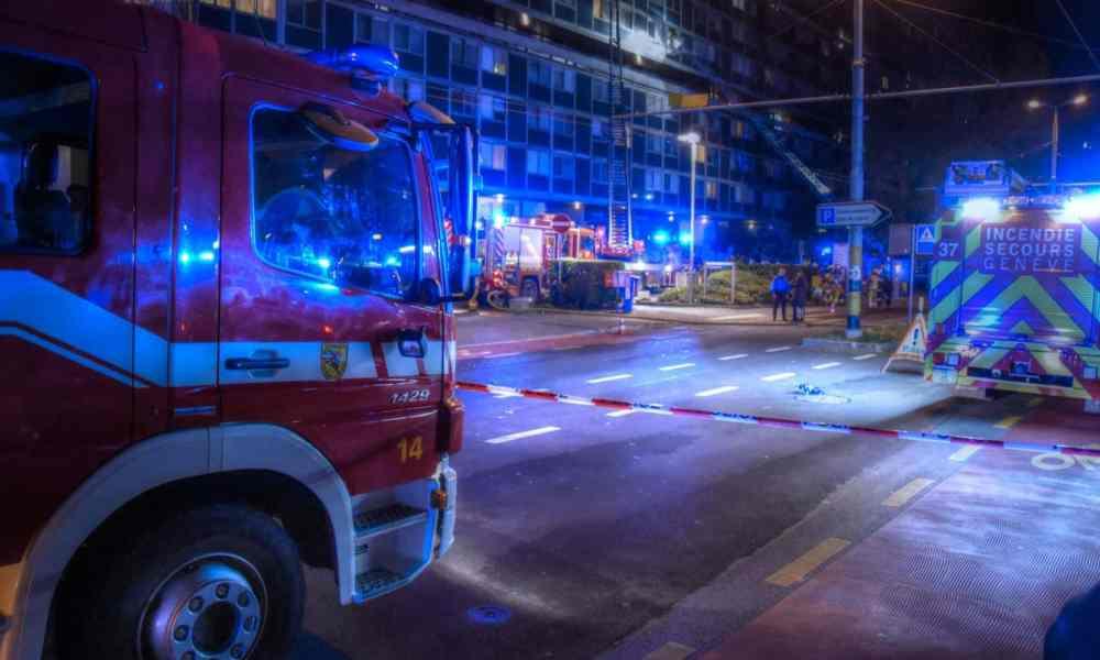 Nuit d'incendies à Genève pour la fête d'Halloween