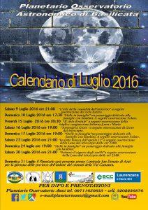 calendario luglioPlanetarioAnzi