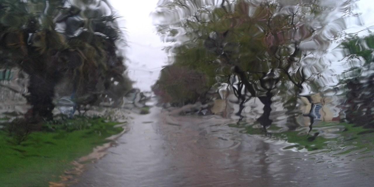 Mucha lluvia y seguirá el mal tiempo
