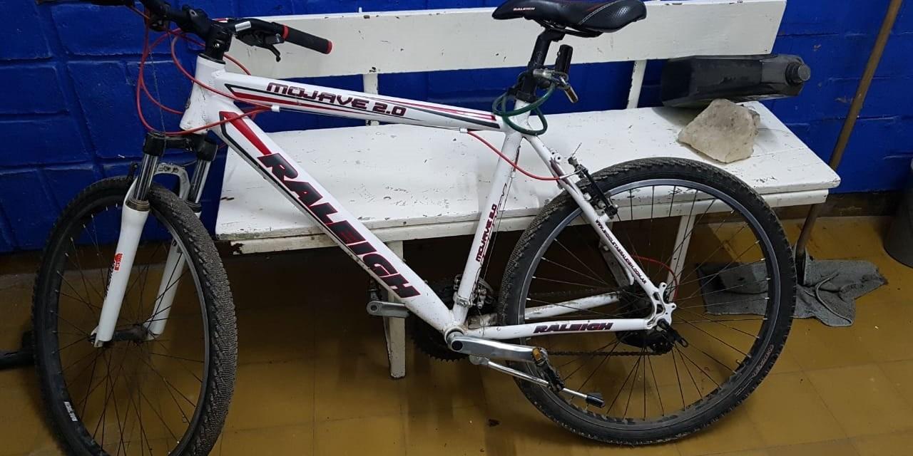 Encontraron una bicicleta