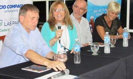 Reconocimientos del Ente Cultural Santafesino y presentación de la Fiesta de Comidas al Disco