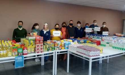 Colecta: Importante cantidad de alimentos para los comedores