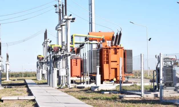 Comenzó a funcionar la Estación Transformadora de 132 Kw