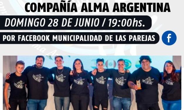 Compañía Alma Argentina se presenta en Casa del Bicentenario