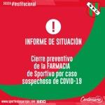 Informe de Sportivo por Covid-19