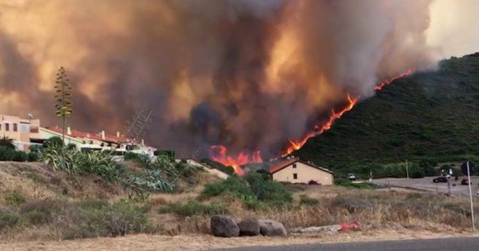 Piromane incendio Cuglieri