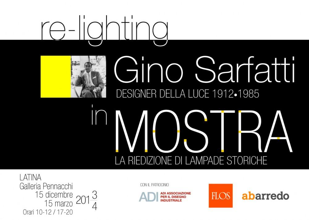 MOSTRA REILLUMINARE Gino Sarfatti alla Galleria Pennacchi  Luna Notizie  Notizie di Latina