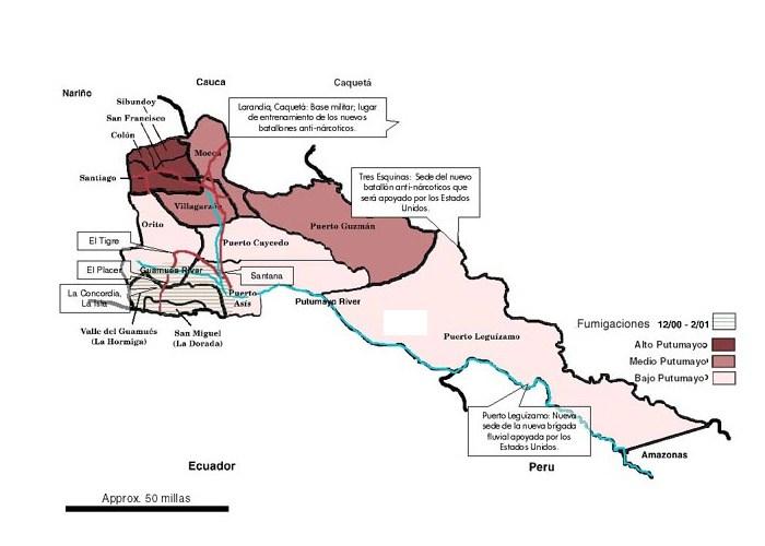 Asesinatos y reclutamiento de Jóvenes en zona rural de Puerto Asís - Incremento-de-acciones-de-estructuras-armadas-en-Medio-y-Bajo-Putumayo