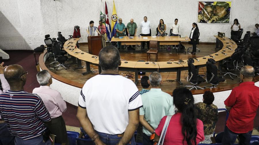 Evo advierte sobre posibles acciones contra Venezuela