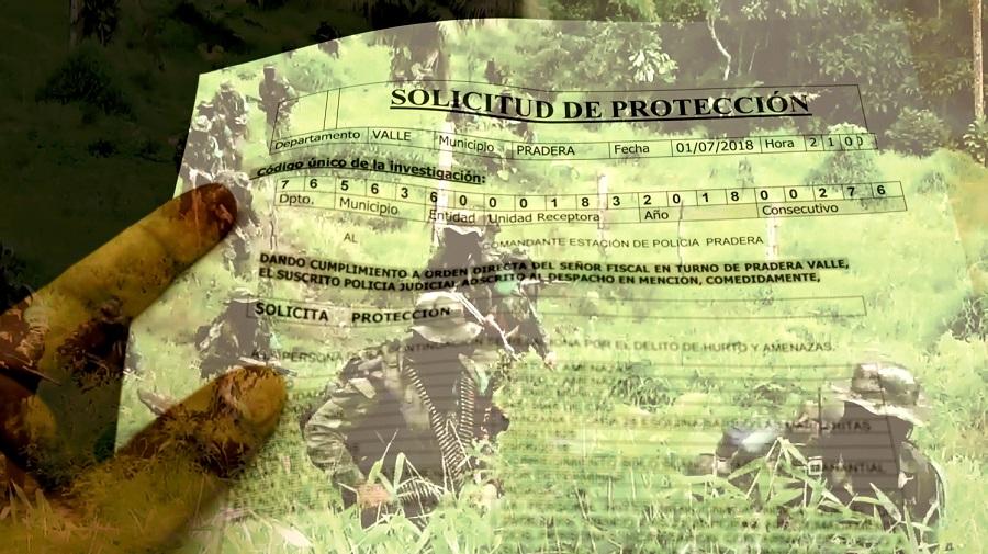 El paramilitarismo que no existe - Paramilitares-Pradera-en-Valle