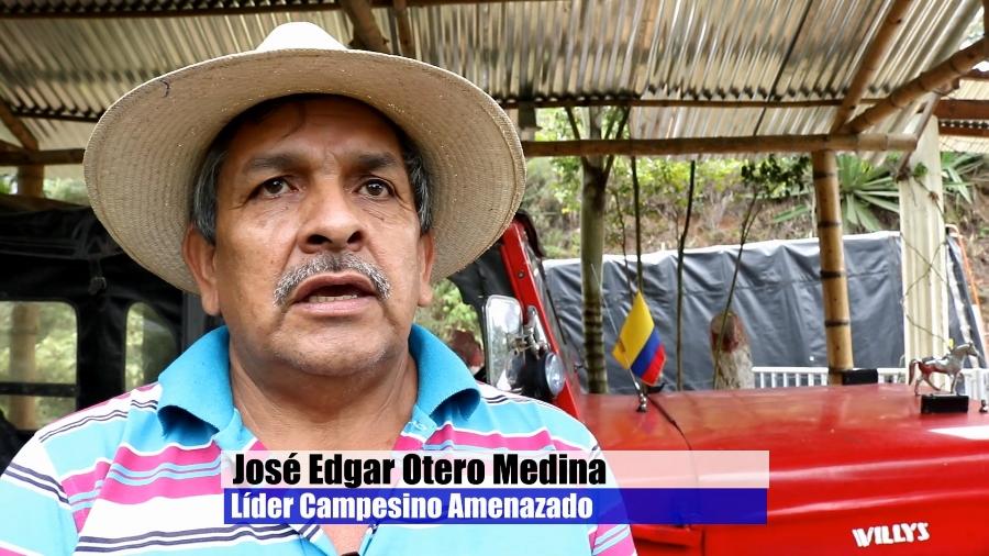 En moto iban a emboscar al líder José Otero - Jose-Otero-lider-amenzado-Florida