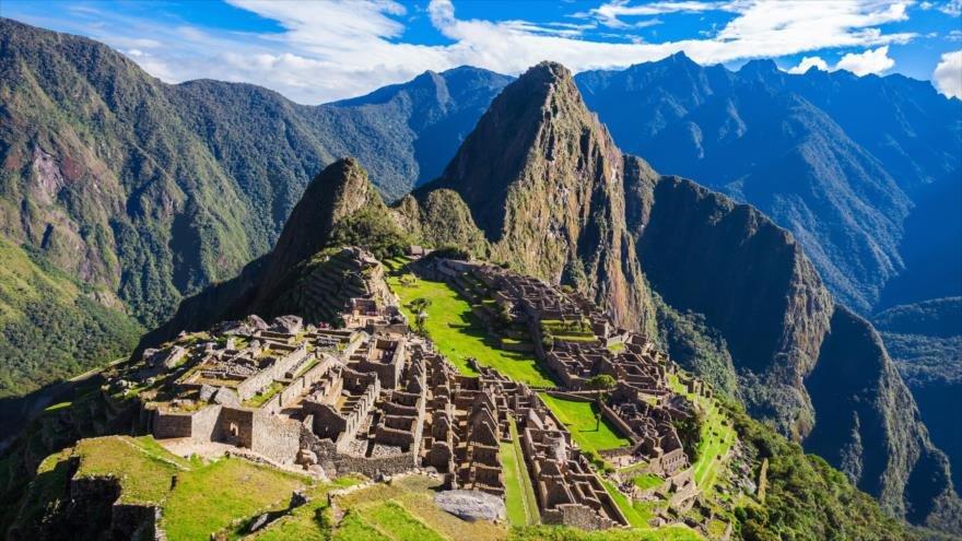 Descubren red de andenes bajo la Plaza Sagrada de Machu Picchu - machupichu