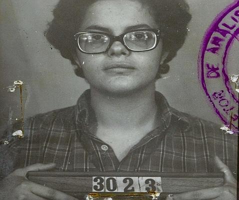 ¿Por qué Jair Bolsonaro ganará la primera vuelta en Brasil - Dilma-detenida-en-su-época-de-guerrillera-marxista