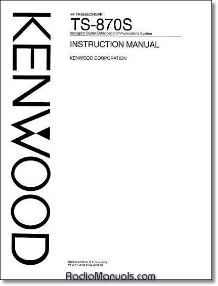 Kenwood TS-590SG Instruction Manual