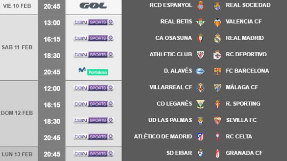 Espanyol y Real Sociedad abren la jornada 22 de #LaLiga