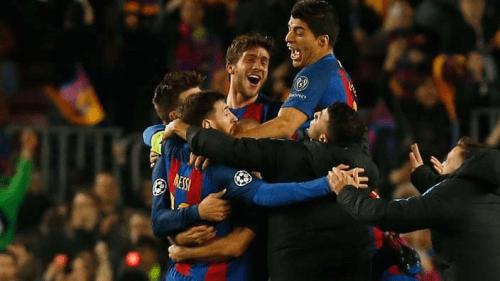 Así sonaron los goles de la Remontada para la historia del Barça radiomarcabcn