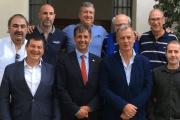 Joan Navarro la Federació Catalana de tenis visita