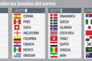 Así quedan las 32 selecciones clasificadas y los bombos definitivos del sorteo del Mundial