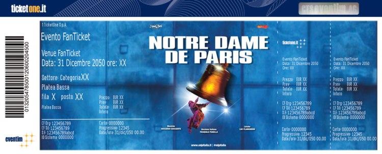 Notre Dame De Paris a luglio in Sicilia