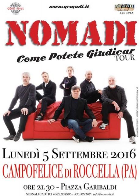 I Nomadi In Concerto A Campofelice Di Roccella