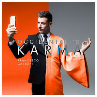 Sanremo 2017: FRANCESCO GABBANI con OCCIDENTALI'S KARMA