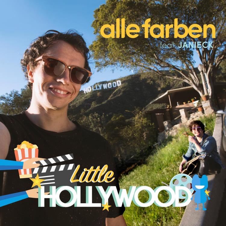 "Una nuovo hit ""Little Hollywood"" per ALLE FARBEN"