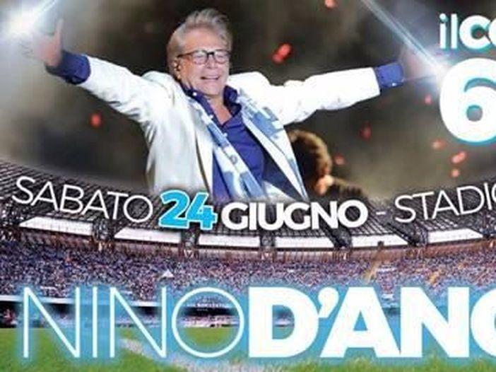 Il tour di Nino D'Angelo fa tappa a Catania e Palermo