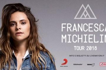 Francesca Michielin live a Catania