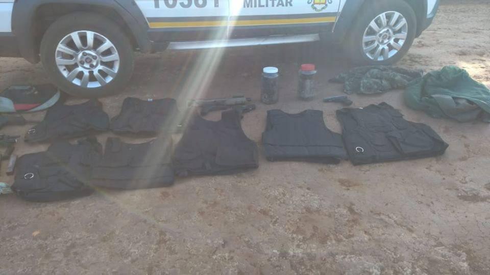 Brigada Militar impede roubo à banco da região