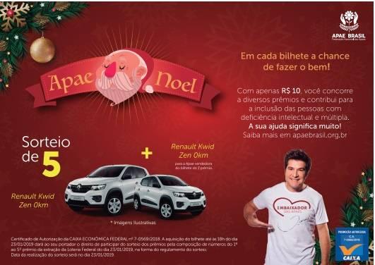 """Apae de São Luiz divulga a Campanha """"Apae Noel 2018"""""""