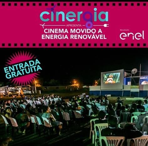 Enel promove sessão de cinema em São Luiz Gonzaga movido a energia renovável