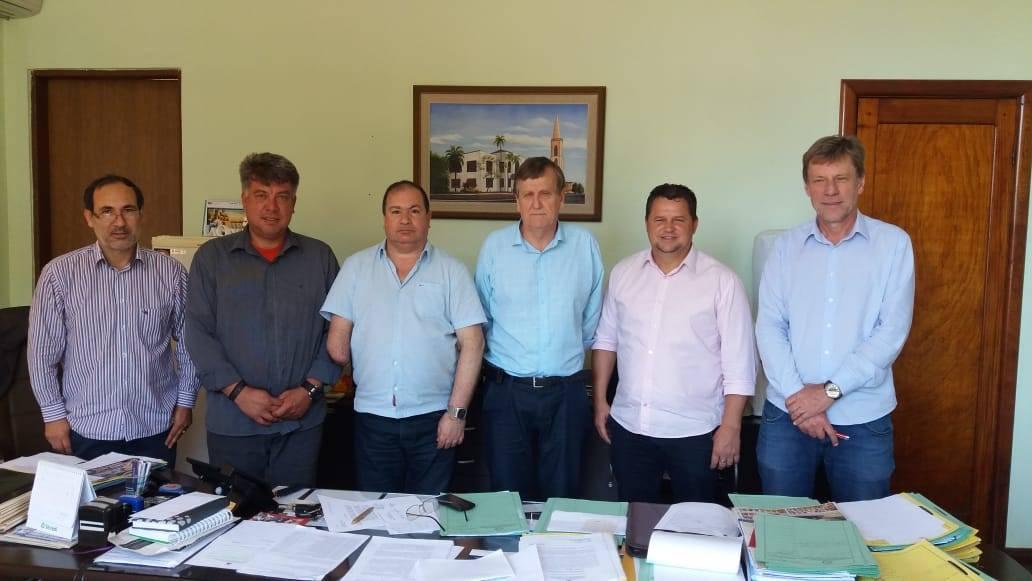 Vereadores do MDB informam o Executivo a posição do partido