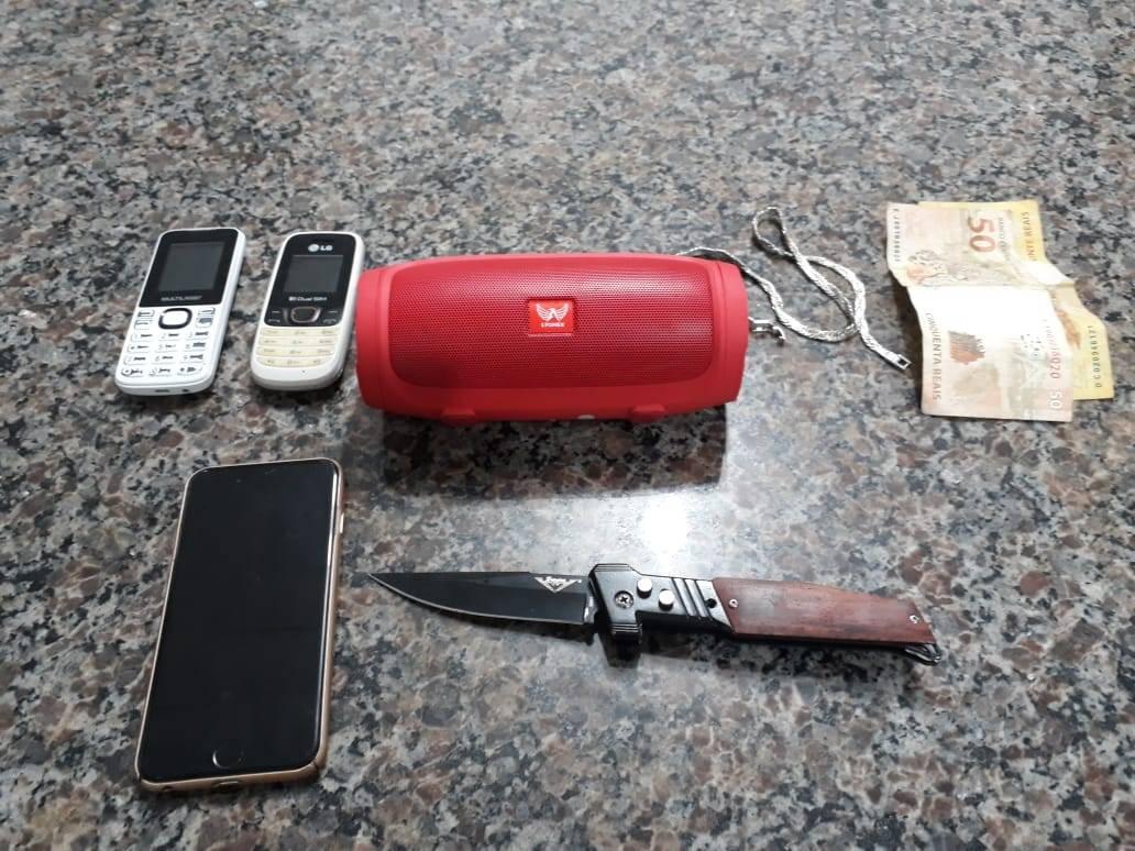 BM prende dupla acusada de roubo em São Luiz Gonzaga