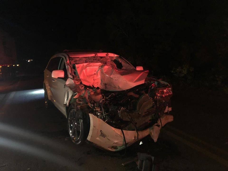 Santo Antônio das Missões: carro bate em carreta na BR 285
