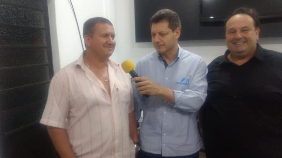 Integrantes do PSL de São Luiz Gonzaga comemoram vitória de Bolsonaro